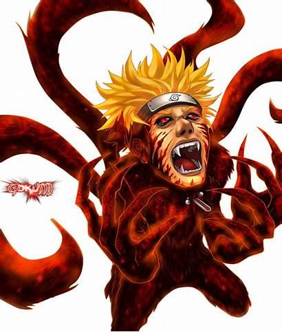 Naruto Kyubi Gambar Nine Fox Sasuke Tailed