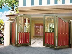 modern homes main entrance gate designs home decorating With entrance gate designs for home