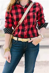 Find out how to style a womens buffalo plaid shirt outfit three ways | buffalo check | womens ...