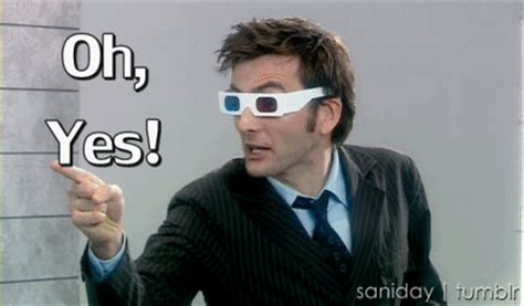 Doctor Who Yes GIF   Find & Share on GIPHY