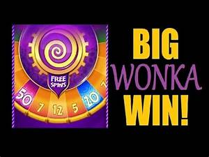 SLOT MACHINE BONUS - WONKA! Willy Wonka 3-Reel Big Win ...