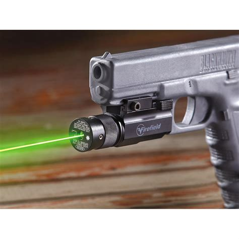 laser light gun firefield laser light pistol kit 220008 tactical lights