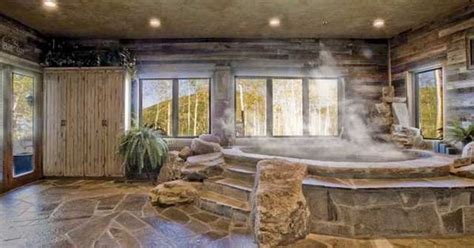 having a hot tub indoors indoor hot tub indoor hot tubs pinterest hot tubs