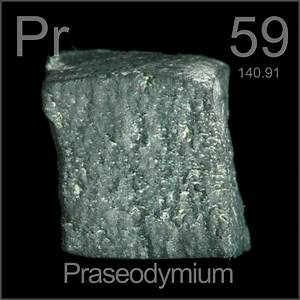 Facts, pictures, stories about the element Praseodymium in ...
