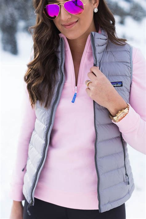Down Puffer Vest Preppy Winter Outfits Preppy Outfits
