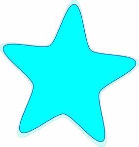 Neon Blue Clipart