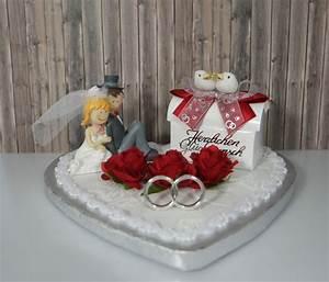 Geldgeschenk Herz Brautpaar Deko Rot Hochzeit EBay