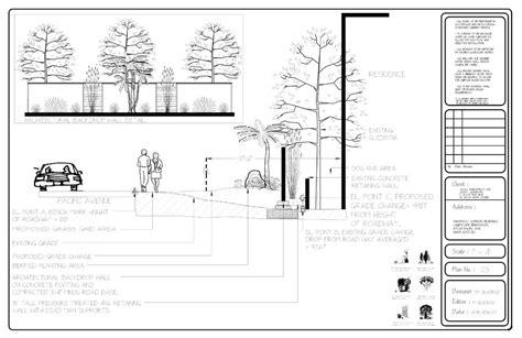 landscape detail drawings types of drawings landscape design vancouver