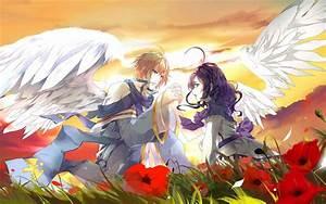 Anime Angel Boy And Girl Wallpaper   siudy.net