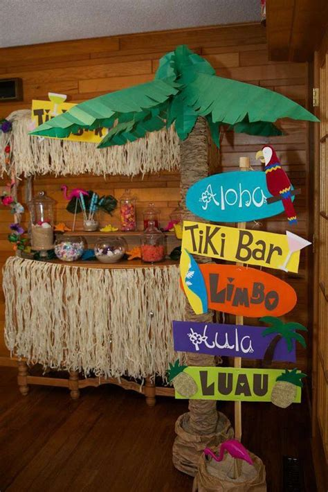 25 best ideas about decor on luau theme and themes