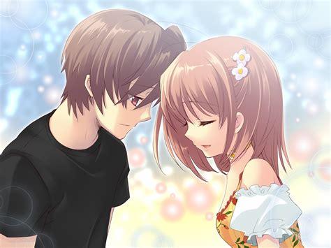 hd cute anime couple backgrounds pixelstalknet