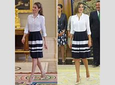 Queen Letizia of Spain Repeating Outfits POPSUGAR Latina