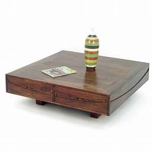 Table Basse Bois Exotique : table basse en palissandre salon asiatique soleil levant ~ Dode.kayakingforconservation.com Idées de Décoration
