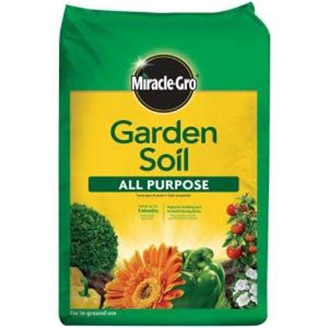 miracle gro 0 75 cu ft all purpose garden soil 75030430