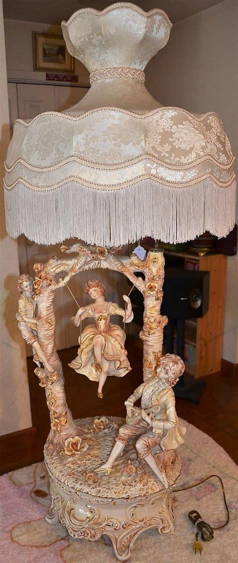 italian swing capodimonte continental porcelain figural table l