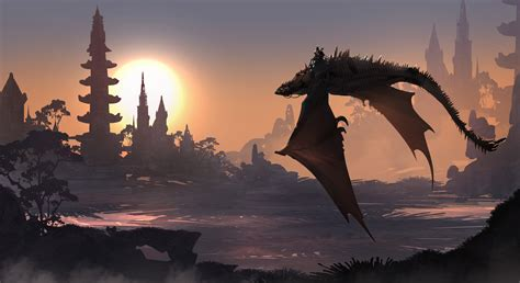 Dragon Fantasy Art 5k, Hd Artist, 4k Wallpapers, Images, Backgrounds, Photos And Pictures
