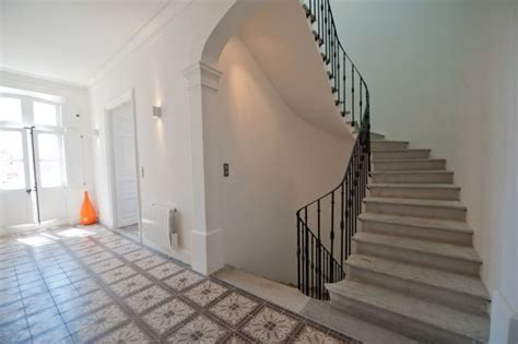 renovation maison de maitre contemporary staircase other metro by renosud