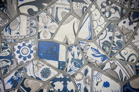 mosaico piastrelle rotte mosaico con piastrelle rotte ornamento decorativo della