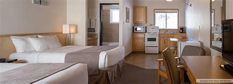 standard hotel room kitchen rocky mountain ski lodge