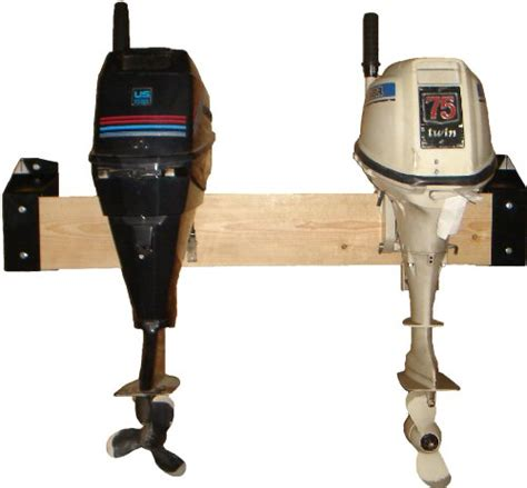 Used Outboard Motors Maine by Outboard Motor Wall Storage Bracket Compact Lightweight