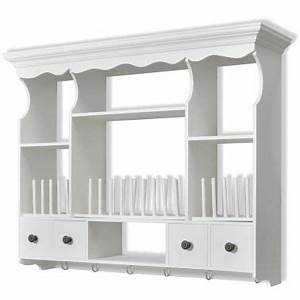 white wooden kitchen wall cabinet vidaxlcom With kitchen colors with white cabinets with danish iron candle holders