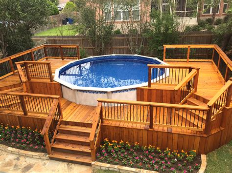 Hot Tub Decks In San Antonio