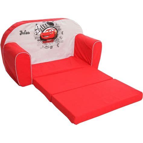 canapé pour enfants canapé convertible pour enfant personnalisé cars
