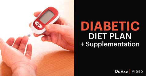 diabetic diet plan supplementation dr axe