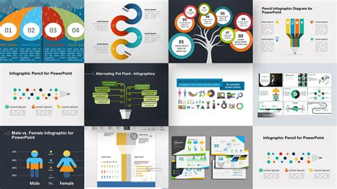 infographic powerpoint templates  power