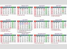 Kalender 2019 Masehi Indonesia Lengkap Libur Nasional