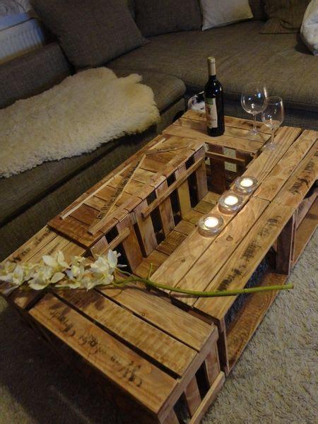 Tisch Aus Weinkisten Bauen by Weinkisten Tisch Obstkisten Tisch 27 Weinkisten