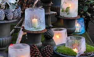 Windlichter Selber Machen : eislaterne dekorieren ~ Lizthompson.info Haus und Dekorationen