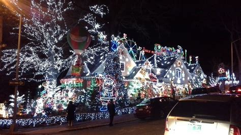 christmas house light show  amazing christmas outdoors decorations queens ny youtube