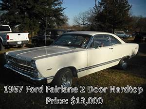 1967 Ford Fairlane 2 Door Hardtop  13 000