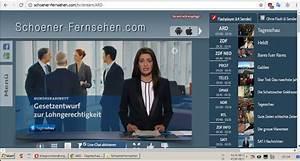 Schoener Fernsehen Com : deutschsprachiges fernsehen via internet ~ Frokenaadalensverden.com Haus und Dekorationen