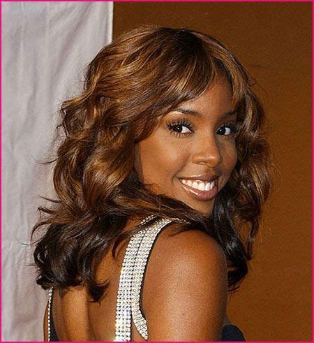 Black Person With Brown Hair by Brown Hair With Caramel Highlights Kellyrowland