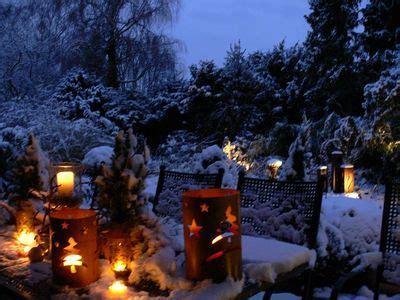 Fotos Weihnachtsdeko Im Garten by Garten Im Winter Wohnen Und Garten Foto Deko F 252 R Den