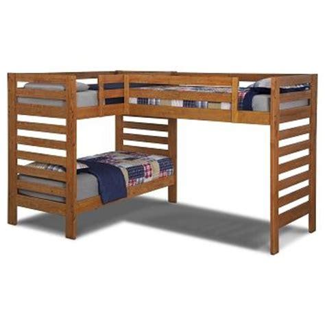 value city bunk beds alpine iii furniture l shaped loft bed value