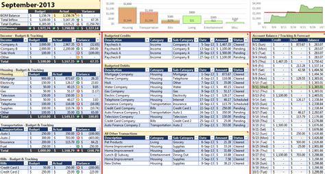 checkbook register app excel bank account template