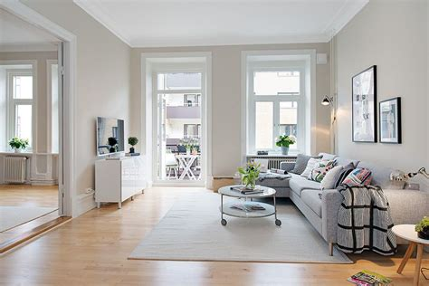 Scandinavian apartment with cream walls   9   Modern Home Design Ideas   lakbermagazin