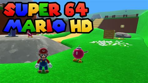 Super Mario 64 Hd Remake Gameplay All Coins Youtube