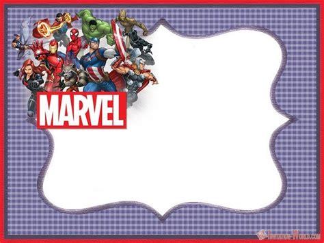 superheroes invitations templates youd  crazy