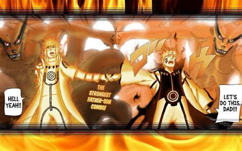 Minato Naruto Yin Kurama Yang Kurama Wallpaper By