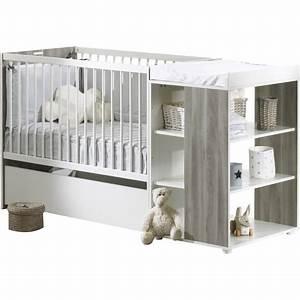 lit bebe combine 60 x120 cm evolutif en 90 x190 cm sleepy With déco chambre bébé pas cher avec livraison orchidée Ï domicile