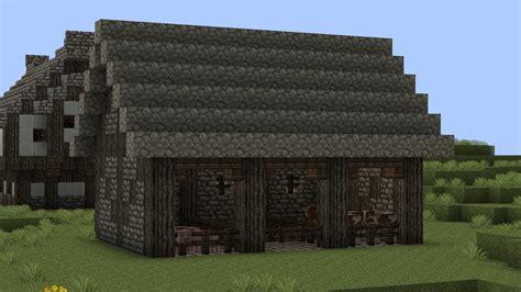 Medieval Animal Barn Tutorial Minecraft Project