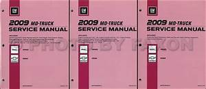 2009 Gmc Topkick And Chevy Kodiak Repair Shop Manual 3 Vol