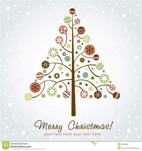 193 rbol de navidad estilizado del dise 241 o ilustraci 243 n del