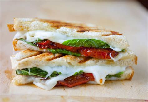 caprese sandwich caprese grilled cheese sandwich with balsamic roasted tomatoes the partial ingredients
