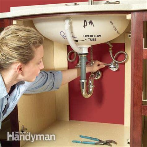 install  vanity sink  family handyman