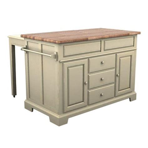 5207505 Broyhill Furniture Kitchen Island  Buttermilk